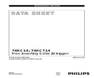 74HC14DB.pdf