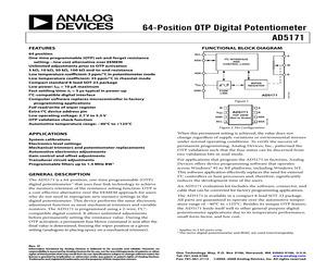 AD5171BRJ100-RL7.pdf