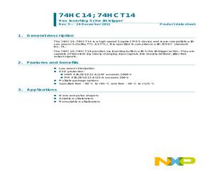74HC14DB,112.pdf